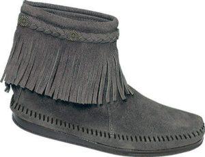 Minnetonka Hi Top Back Zip Boot, $57.95