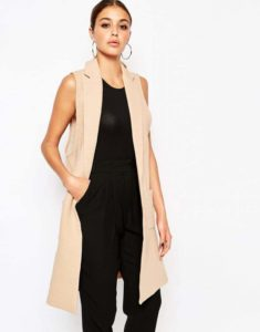 River Island Sleeveless Tailored Blazer, $90, ASOS