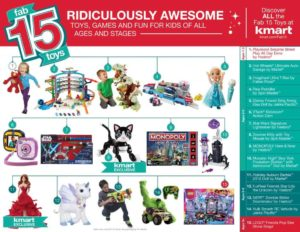 Kmart FAB15 Toys