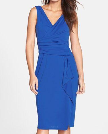 Ruched Jersey Sheath Dress, $128, Nordstrom.com