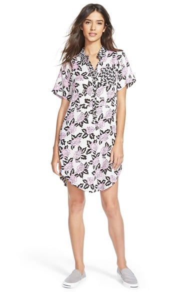 'Vans x Eley Kishimoto' Print Shirtdress, $62, Nordstrom