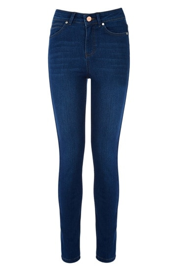Lily high waisted jeans, $61.60, Oasis