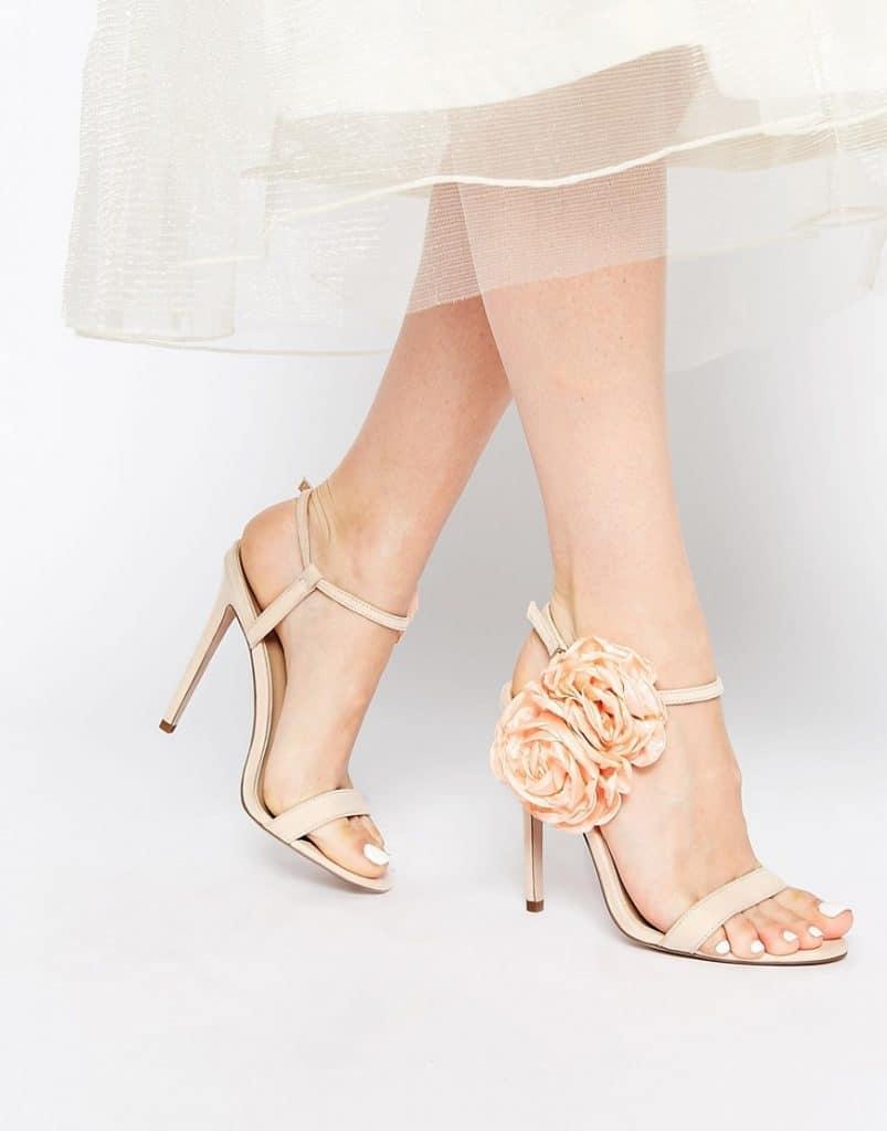 ASOS HEART TO HEART Heeled Sandals, $81, ASOS