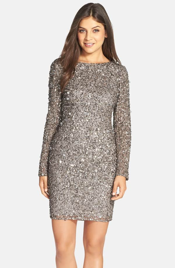 Embellished Scoop Back Cocktail Dress , $229, Nordstrom