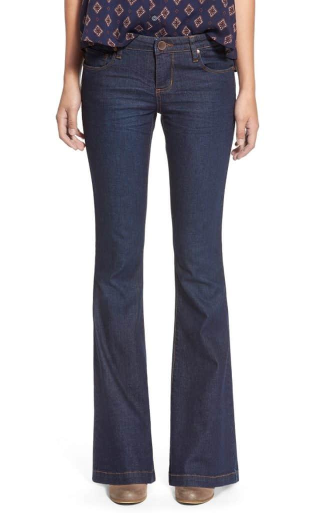 Flare Leg Skinny Jeans, $58, Nordstrom