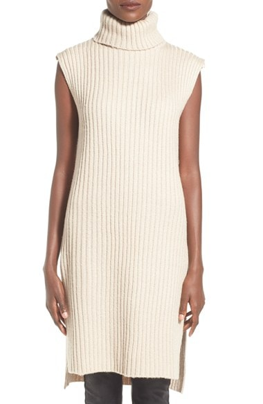 Sleeveless Turtleneck Sweater Dress, $88, Nordstrom