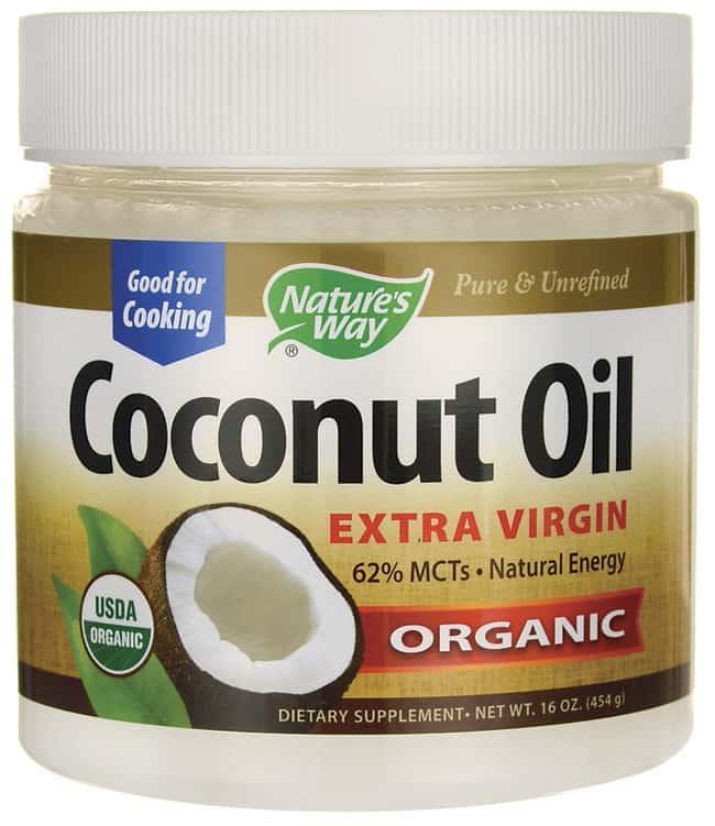 Organic, unrefined coconut oil