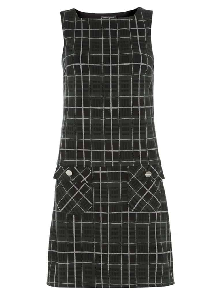 Green Square Neck Pinny Dress, $44, Dorothy Perkins