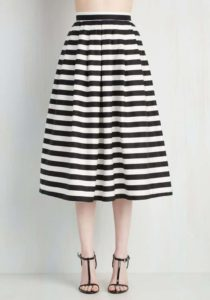 Chic-ing of Which Skirt, $59.99, Modcloth