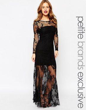 Lace Maxi Dress, $72, ASOS