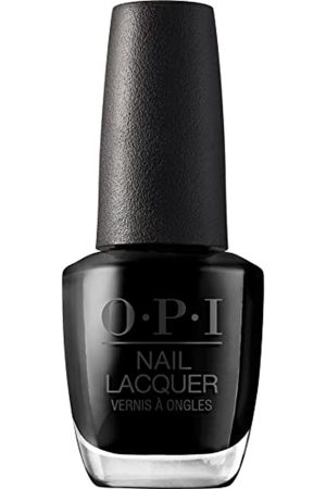 black naill polish is on trend for winter