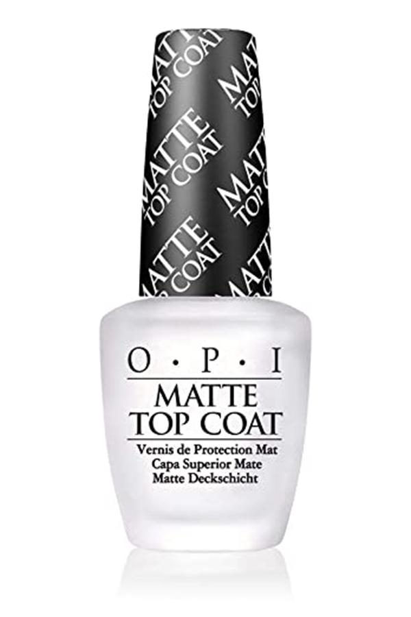 matte top coat by OPI