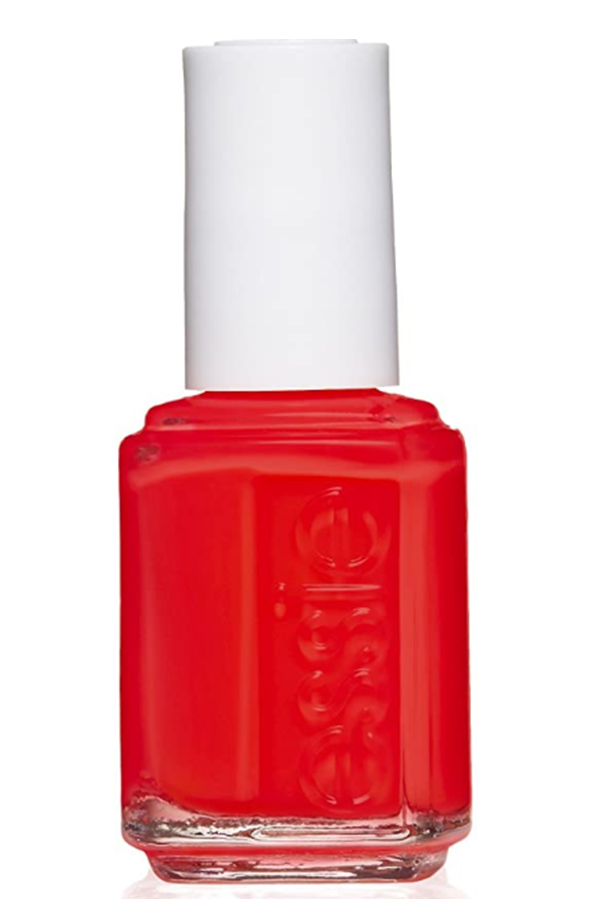 red nail polish from essie