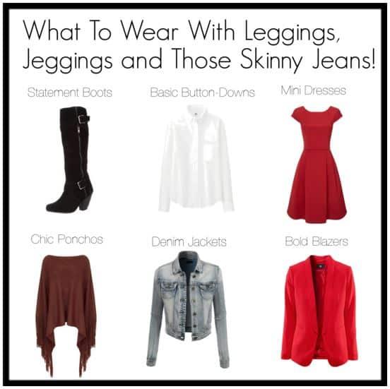 Top 10 Ways to Wear Skinny Pants