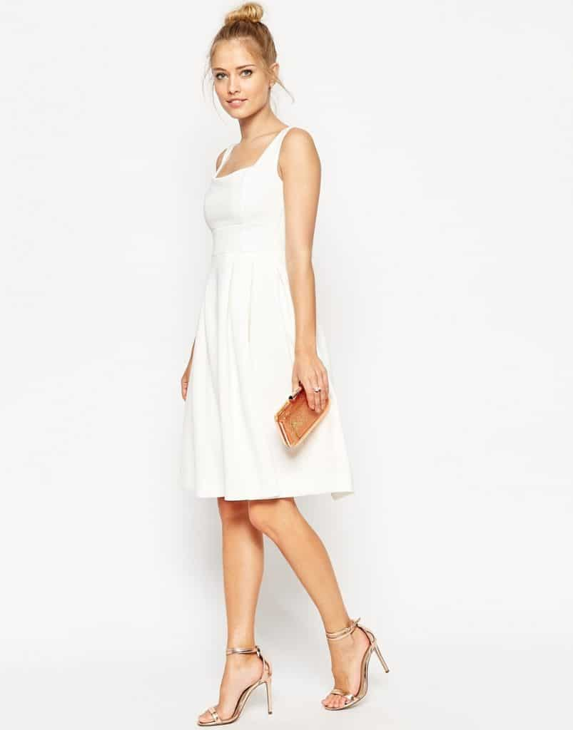 ASOS Debutante Midi Dress, $76, ASOS