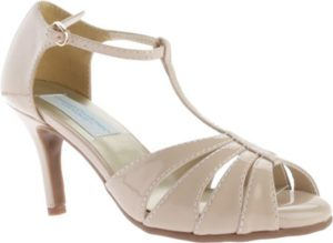 Nude Patent Pumps, $68.95, Shoebuy.com