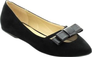 Ballet Flats with Bow, $33.95, Shoebuy.com