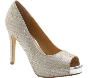 Open Toe Sparkly Pump, $58.95, Shoebuy.com