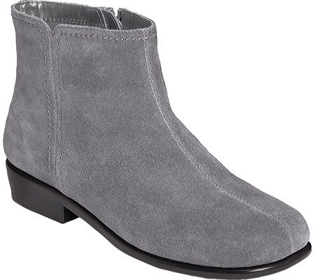 Gray Suede Ankle Boots, $69.99, Shoebuy.com