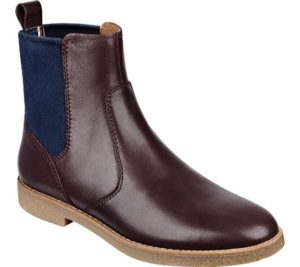 Plum Colored Chelsea Boot, $99.95, Shoebuy.com
