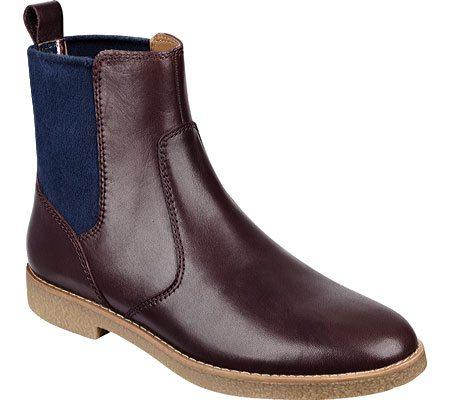 Plum Colored Chelsea Boot, $99.95, Shoebuy.com