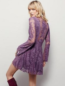 color trends: lilac dress by freepeople