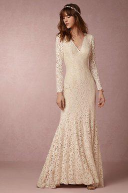 Lisette Gown, $800, bhldn