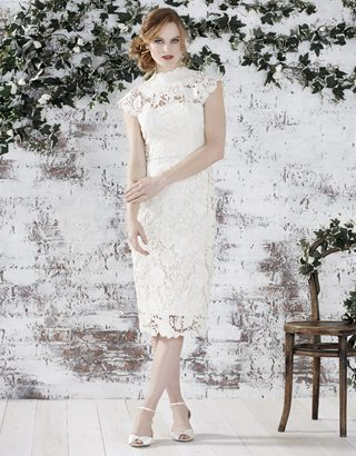 Willow Lace Dress, $350, Monsoon