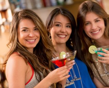single on valentines day - girls out drinking