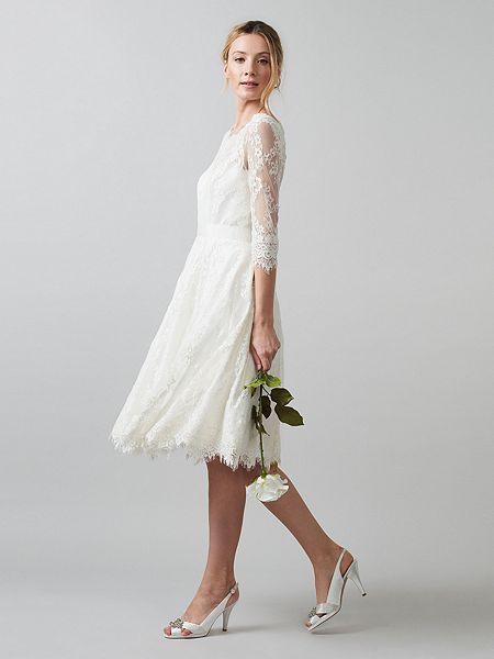 Cressida Wedding Dress, $790, Phase Eight
