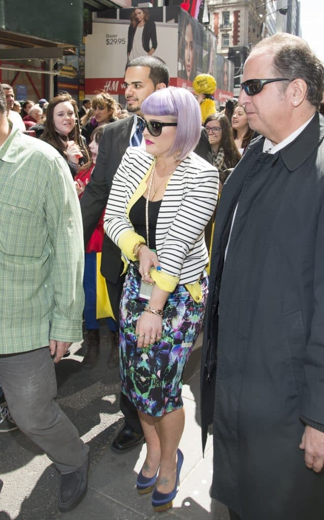 """Kelly Osbourne Debuts Wheat Thins """"Popped"""" in New York City on April 9, 2014"""
