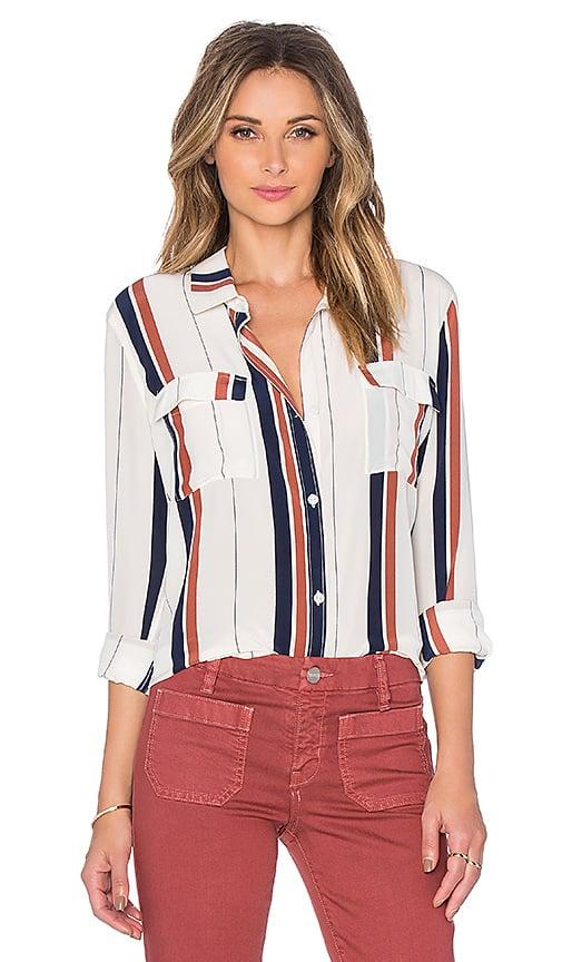 Silk Tailored Shirt, $129, Revolve