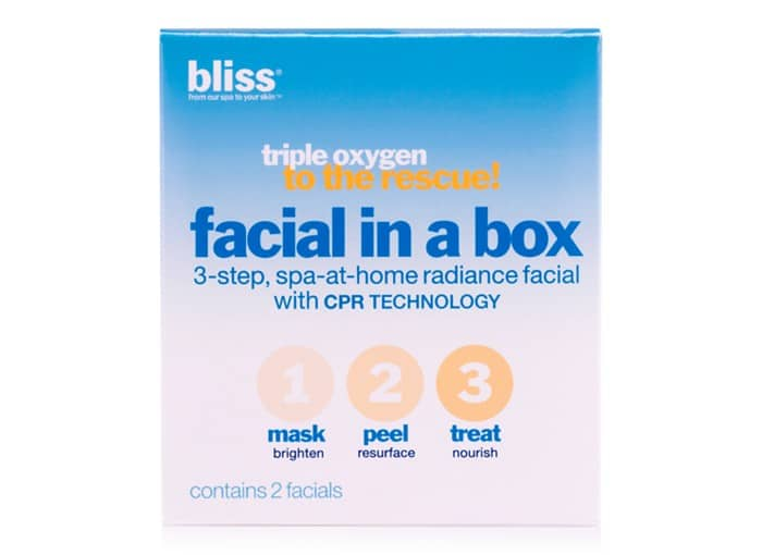 bliss Facial in a Box, $14, Macy's