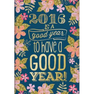 2016 foil calendar