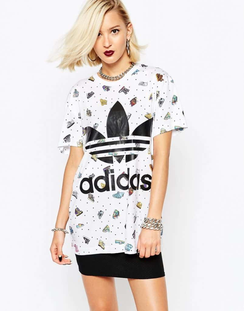 Adidas Jeremy Scott Oversized T-Shirt, $91, ASOS