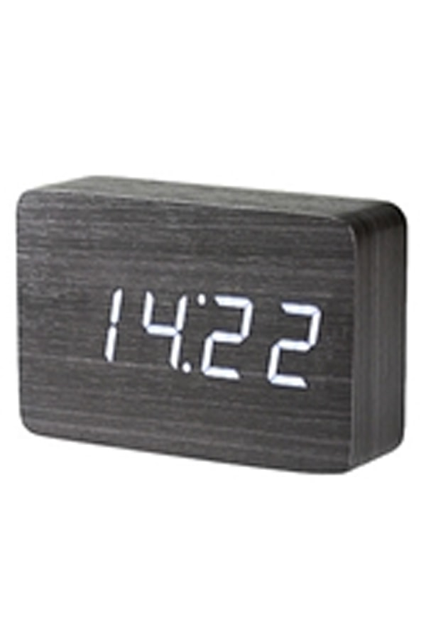 Digital clock with alarm