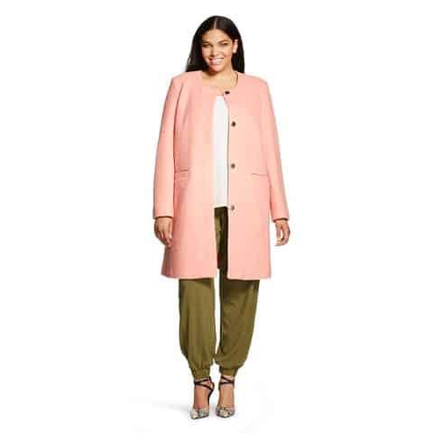 Women's plus size pea coat, $31.38, Target