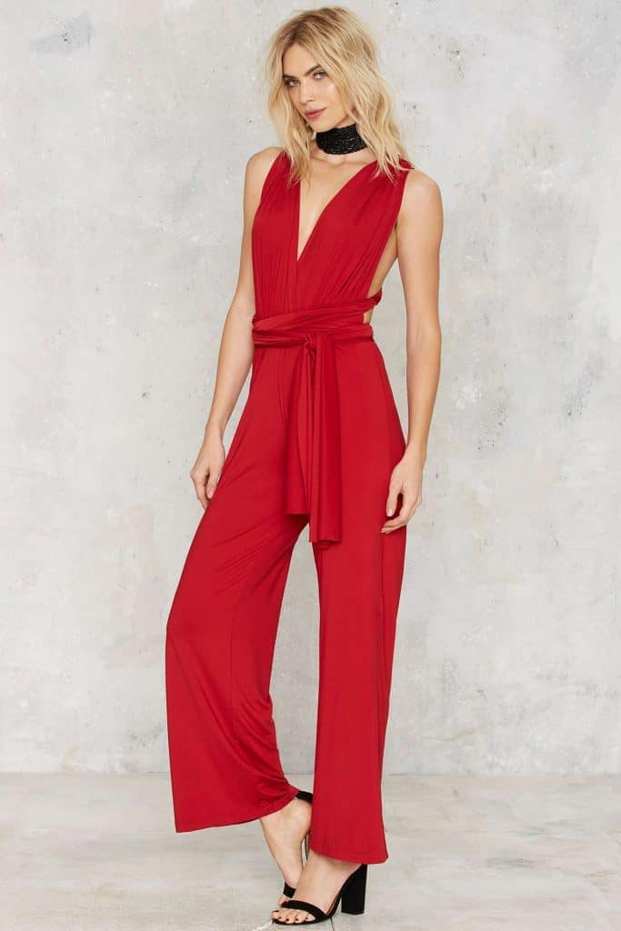 All time low jumpsuit, $78, Nasty Gal