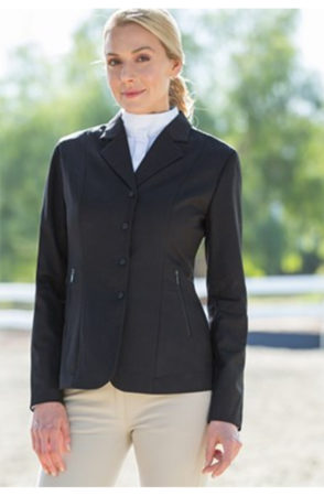 Equestrian wearing show clothes