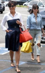 kris and kourtney kardashian shopping