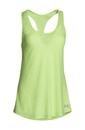 Light green loose fit athletic tank top