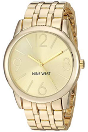 Gold toned watch from Nine West