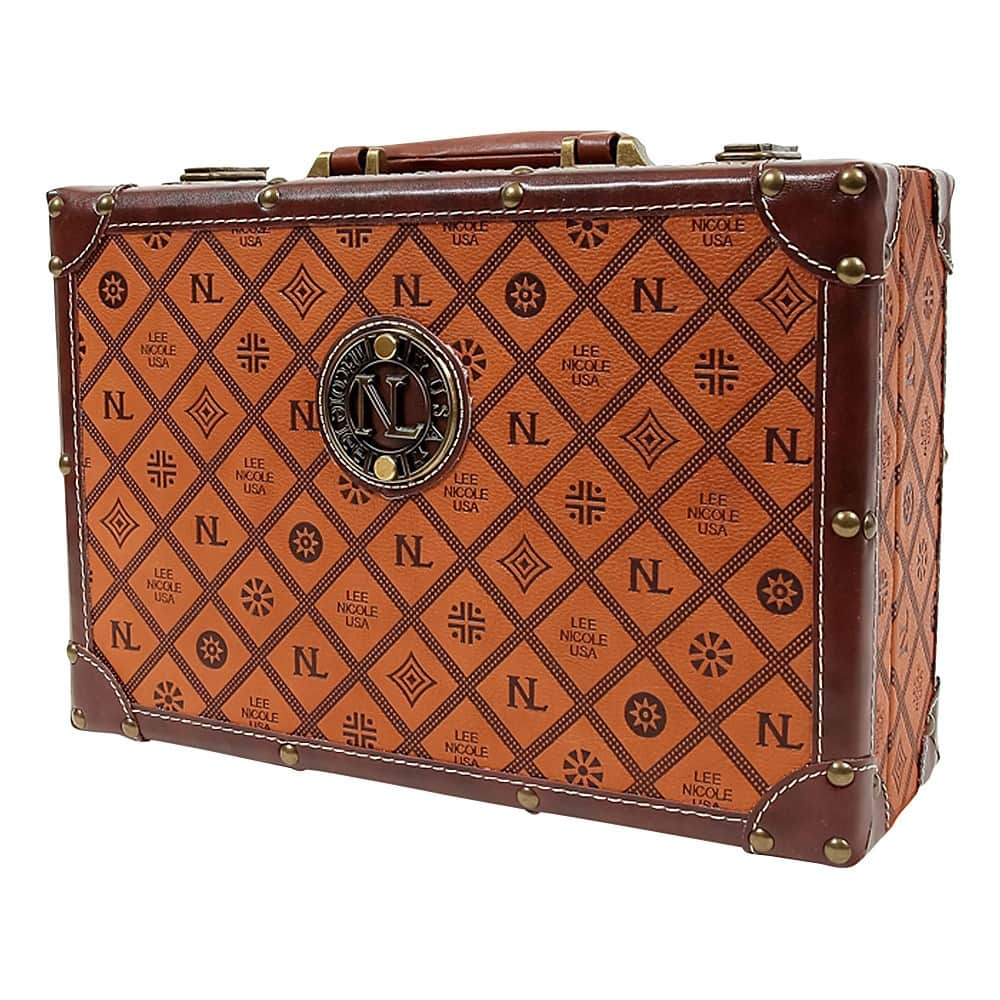 Boxed briefcase for women