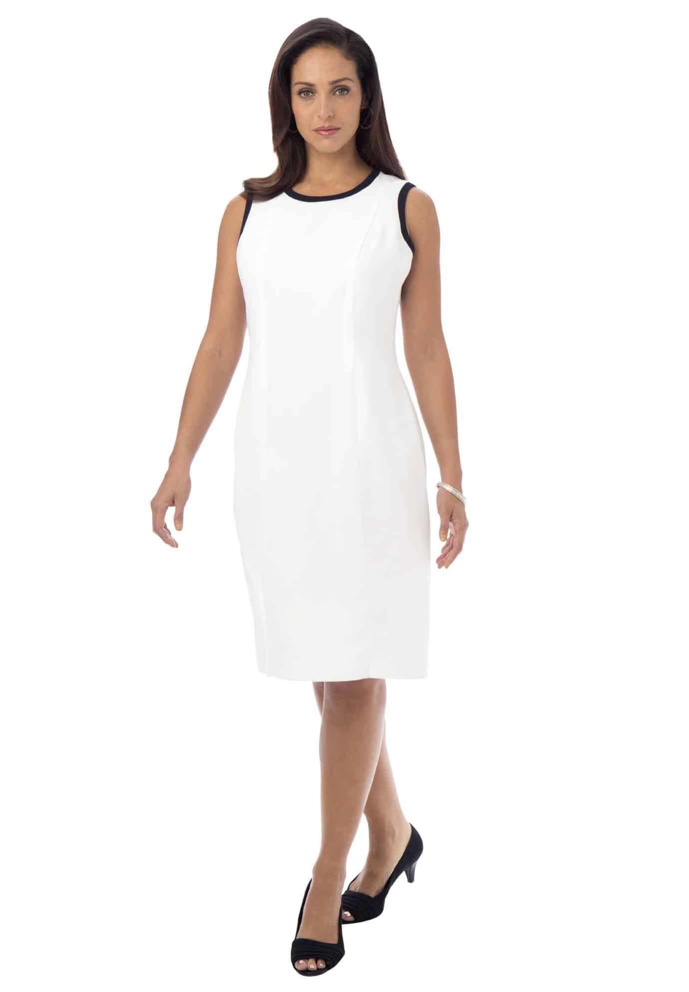 classic sheath dress for work