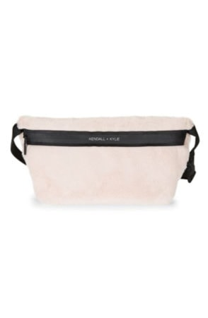 pink fur cutest fanny pack