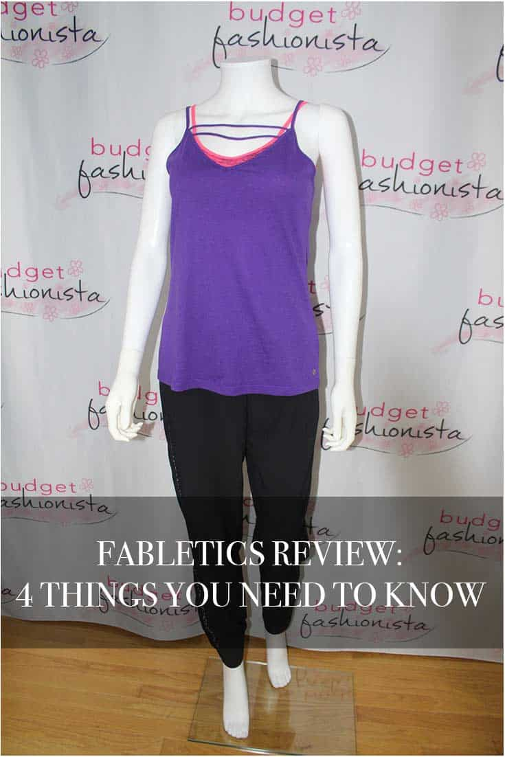 FABLETICS REVIEW - MANNEQUIN WEARING FABLETICS ATTIRE