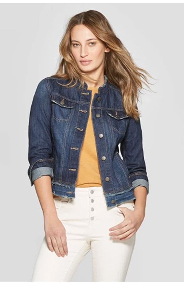 90s fashion trends -- denim jacket