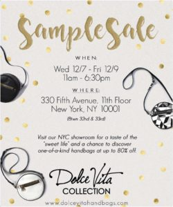 dvc holiday sample sale flyer