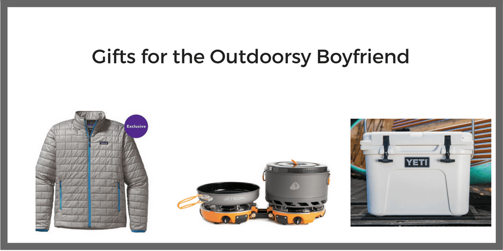 boyfriend gifts for the outdoorsy boyfriend