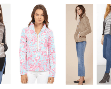 outerwear in four styles